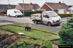 Retrospective 2002 Garden improvements at my Wife's cousins by your Host. Garden designed by my Wife's Cousin. (16) 17