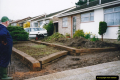 Retrospective 2002 Garden improvements at my Wife's cousins by your Host. Garden designed by my Wife's Cousin. (22) 23