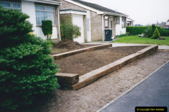 Retrospective 2002 Garden improvements at my Wife's cousins by your Host. Garden designed by my Wife's Cousin. (24) 25