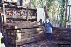 Retrospective 2002 Garden improvements at my Wife's cousins by your Host. Garden designed by my Wife's Cousin. (3) 04
