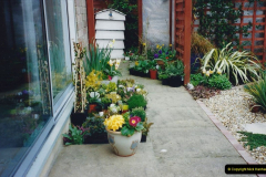 Retrospective 2002 Garden improvements at my Wife's cousins by your Host. Garden designed by my Wife's Cousin. (36) 37