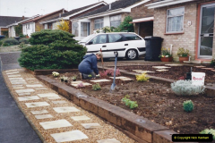 Retrospective 2002 Garden improvements at my Wife's cousins by your Host. Garden designed by my Wife's Cousin. (39) 40