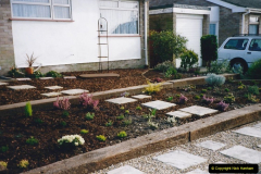 Retrospective 2002 Garden improvements at my Wife's cousins by your Host. Garden designed by my Wife's Cousin. (41) 42