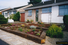 Retrospective 2002 Garden improvements at my Wife's cousins by your Host. Garden designed by my Wife's Cousin. (43) 44