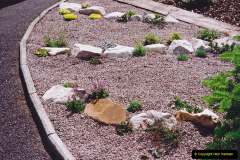 Retrospective 2002 Garden improvements at my Wife's cousins by your Host. Garden designed by my Wife's Cousin. (44) 45