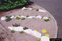 Retrospective 2002 Garden improvements at my Wife's cousins by your Host. Garden designed by my Wife's Cousin. (45) 46