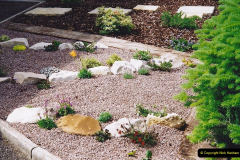 Retrospective 2002 Garden improvements at my Wife's cousins by your Host. Garden designed by my Wife's Cousin. (46) 47