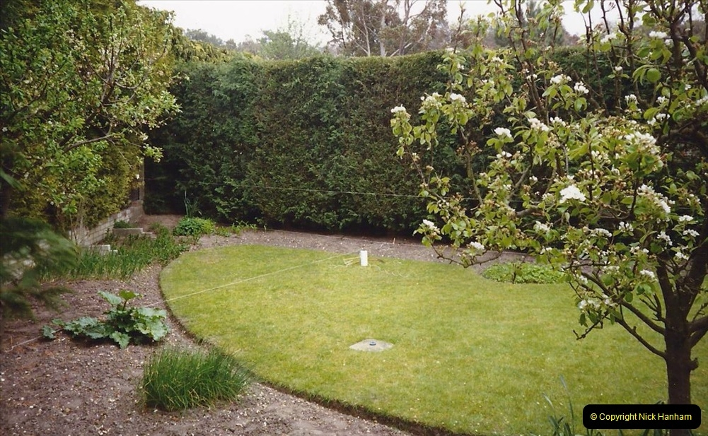 Retrospective Garden improvements by your Host 1990