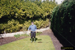 April 1990 Your Host alters the back garden. (3) 03
