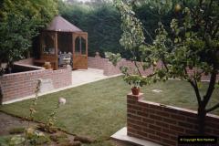 April 1990 Your Host alters the back garden. (58) Job dun. 58