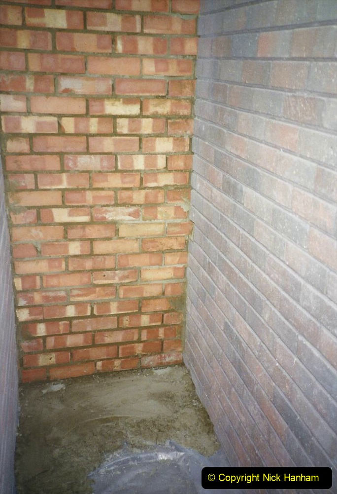 1989 April May June Your Host Building Cloakroom and shower room using alleyway between garage and house. (18)