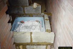 1989 April May June Your Host Building Cloakroom and shower room using alleyway between garage and house. (11)