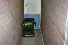 1989 April May June Your Host Building Cloakroom and shower room using alleyway between garage and house. (2)
