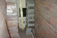 1989 April May June Your Host Building Cloakroom and shower room using alleyway between garage and house. (9)