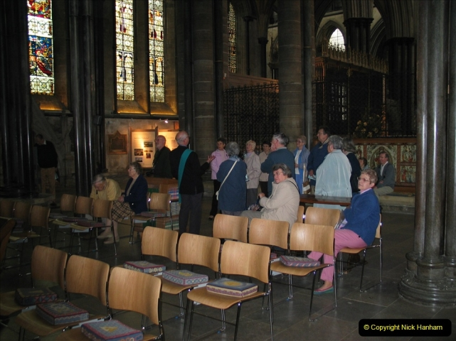 Retrospective 2004 - Group visit to Salisbury Cathrdral. (19) 19