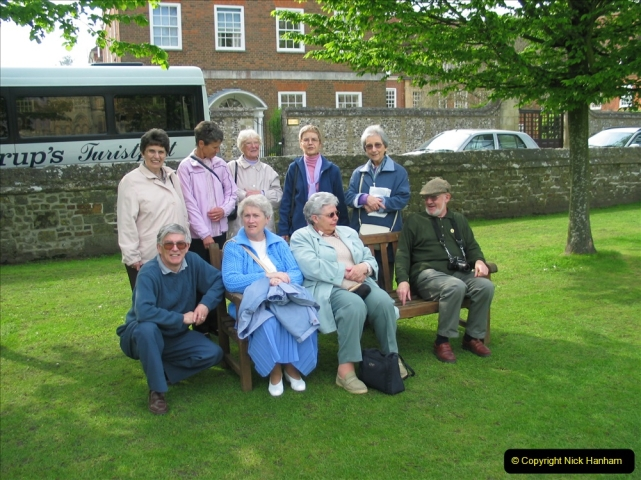 Retrospective 2004 - Group visit to Salisbury Cathrdral. (67) 67