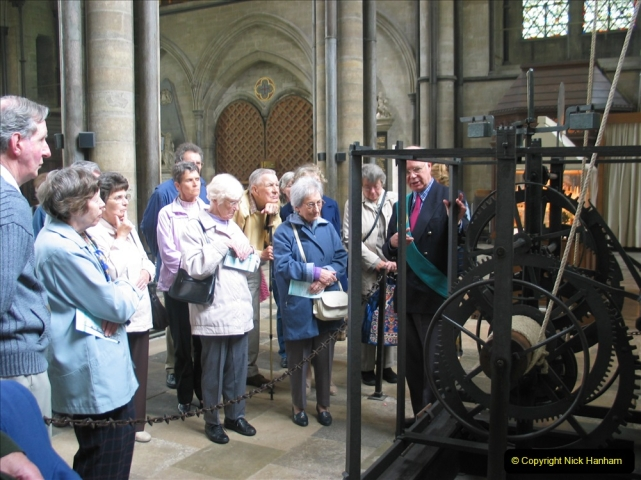 Retrospective 2004 - Group visit to Salisbury Cathrdral. (9) 09
