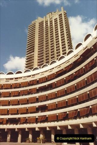 1982 London. (2) The Barbican. 011202011