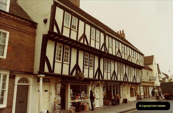1982 York. (06) Micklegate. 026217026