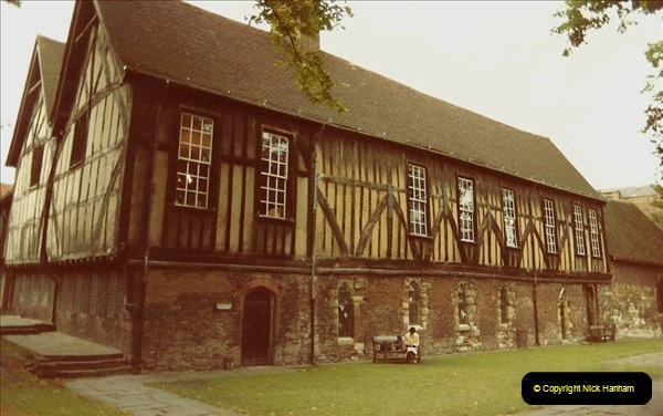 1982 York. (10) Merchant Adventurer Hall. 030221030