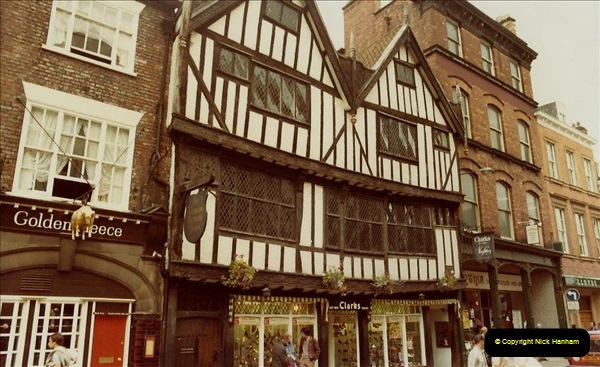 1982 York. (8) The Shambles. 028219028