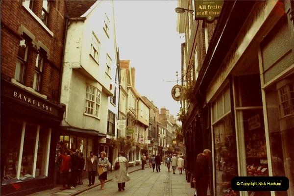 1982 York. (9) The Shambles. 028220029