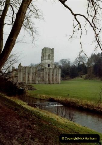 1983 Cumbria & Yorkshire. (1) Fountains  Abbey. 052243052