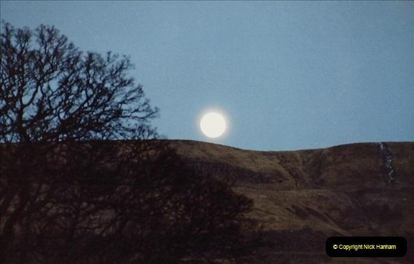 1983 Cumbria. (12) Moon Rise. 066257066