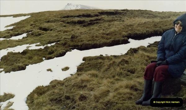 1983 Cumbria. (7) Wild Boar Fell. 061252061