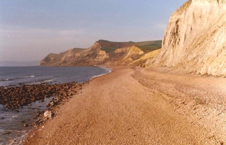 1983 Lyme Regis, Dorset. (18) West Bay. 087278087