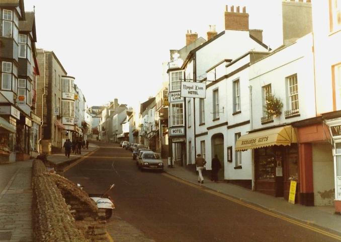 1983 Lyme Regis, Dorset. (4) 073264073