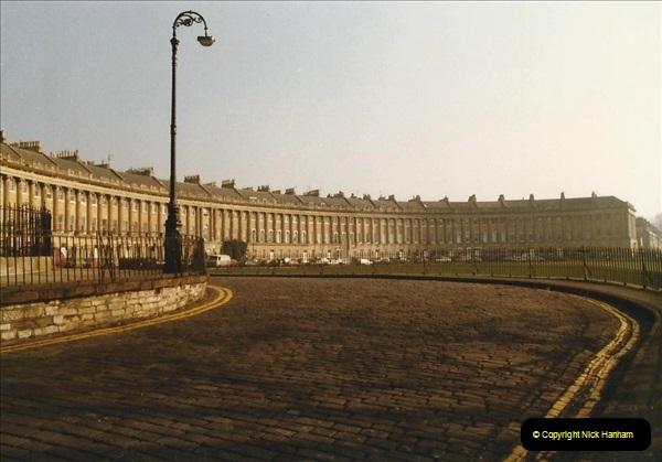 1984 Bath, Somerset. (8) The Royal Crescent. 103294103