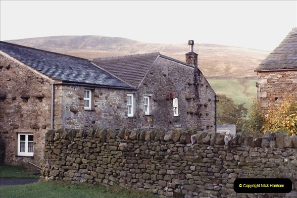 1984 Cumbria. (16) Our accommodation in Outhgill.156347156