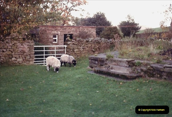 1984 Cumbria. (17) Our accommodation in Outhgill. Locals.157348157