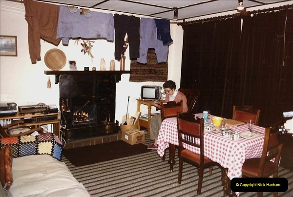 1984 Cumbria. (19) Our accommodation in Outhgill.159350159