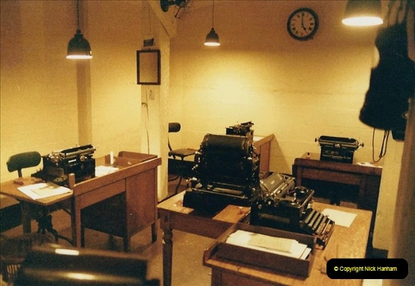 1985 London. (10) The Cabinet War Rooms. 412221
