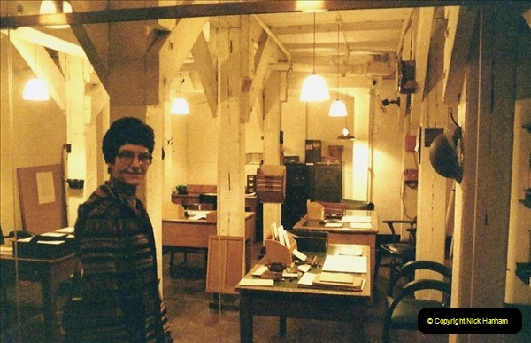 1985 London. (11) The Cabinet War Rooms. 413222