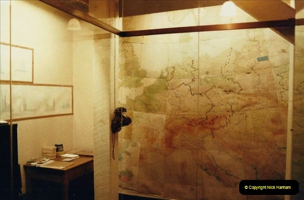 1985 London. (12) The Cabinet War Rooms. 414223