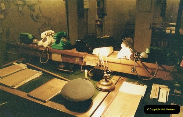 1985 London. (14) The Cabinet War Rooms. 416225