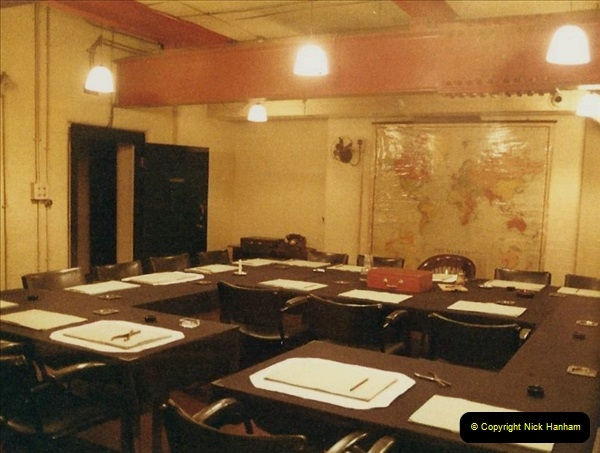 1985 London. (3) The Cabinet War Rooms. 405214