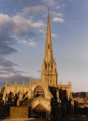 1985 St.Mary Radcliffe Bristol. (35) 447256