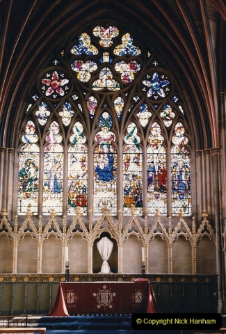 1986 Exeter. (14) Exeter Cathedral. 484293