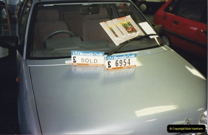 1988 A new car for your Host's Wife birthday. (3)603409
