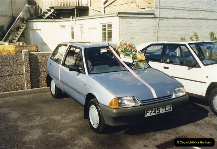 1988 A new car for your Host's Wife birthday. (5)604410