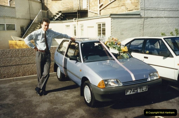 1988 A new car for your Host's Wife birthday. (7)606412