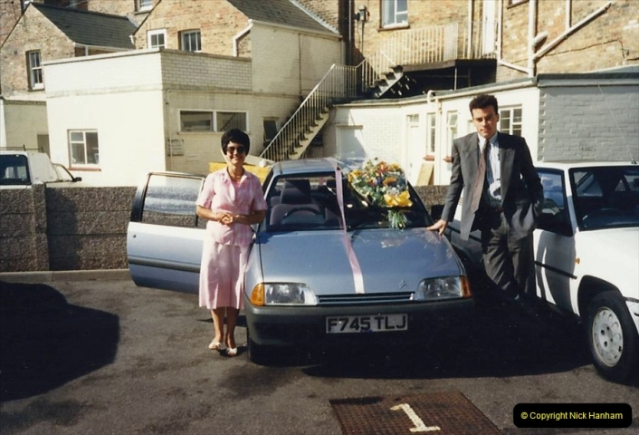 1988 A new car for your Host's Wife birthday. (8)607413