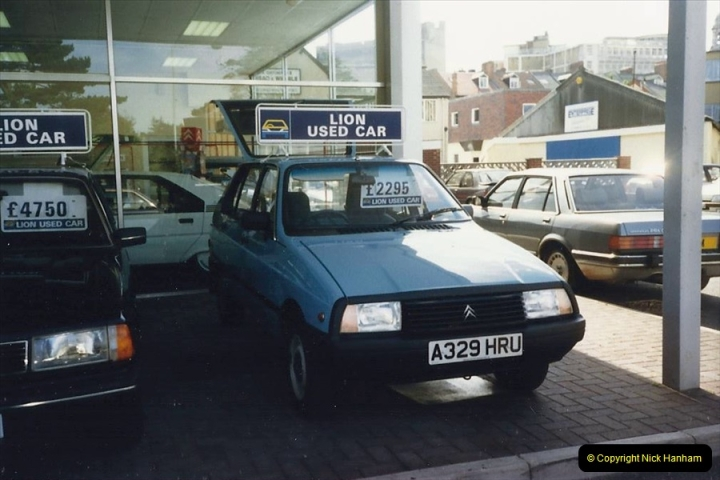 1988 A new car for your Host's Wife birthday. The old car for sale a few days later. (12)611417