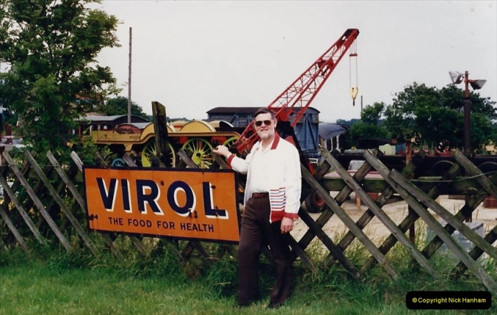 1988 At the North Norfolk Railway. Your Host. (55)616422