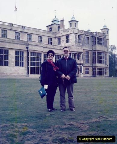 1988 Hatfield House, Hertfordshire. Your Host and Wife. (17)646460