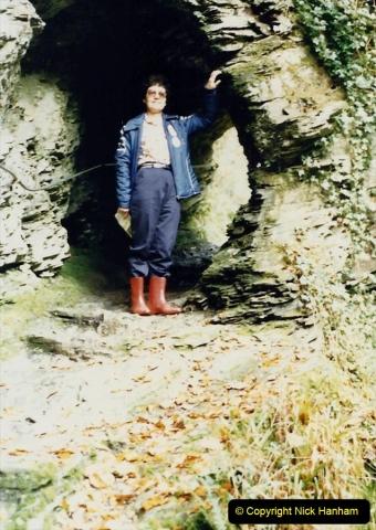 1988 Lydford Gorge, Devon. Your Host's Wife.  (35)665479